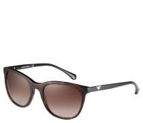 Sonnenbrille, Trapez-Form, Logo