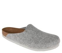 Pantoffeln, Filz, ergonomisches Fußbett