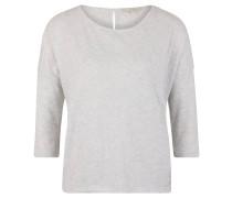 Shirt, 3/4-Arm, meliert, Schlüsselloch-Ausschnitt hinten