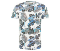 "T-Shirt ""Fern"", Baumwolle, floraler Allover-Print"