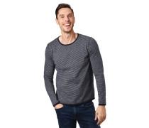 Pullover, Streifen, abgesetzte Saumkanten, Baumwolle