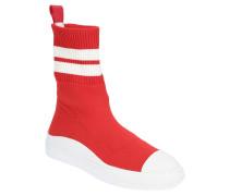 Schuhe, Socken-Design, zweifarbig, ledernes Wechselfußbett