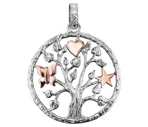 Anhänger, Lebensbaum , Herz, Stern, Schmett