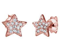 Ohrringe Sterne Astro Trend Swarovski® Kristalle 925 Silber