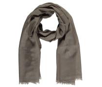 Schal, Wolle, Fransen