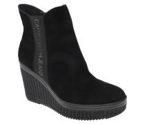 """Ankle Boots """"Shanna"""", Keilabsatz, Veloursleder"""