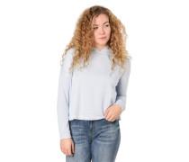 Sweatshirt, Kapuze, Oversized, Rückenschnitt, Wickel-Detail