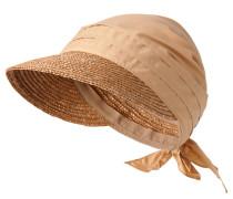Kappe, Stroh-Schirm, Drapierung