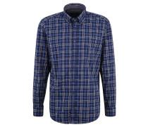 Freizeithemd, Regular Fit, Button-Down-Kragen, Brusttasche mit Knopf
