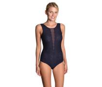 Body, Spitze, florales Design, Tüll-Rücken, breite Träger