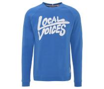 Sweatshirt, Front-Print, Baumwolle