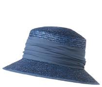 Sonnenhut, gerafftes Hutband, unifarben