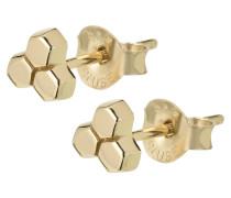 """Ohrstecker """"Essentielle Three Hexagon""""  CLJ51017"""