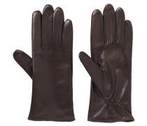 """Handschuhe """"Klassiker Fleece"""", Leder, klassisch"""