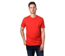 T-Shirt, uni, Rundhalsausschnitt, Baumwolle