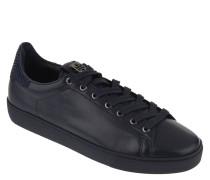 Sneaker, Leder, Strass-Besatz, herausnehmbare Sohle