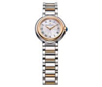 Damenuhr Fiaba Date rosévergoldet Bicolor FA1003-PVP13-110