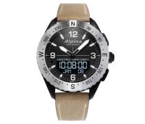 """Smartwatch Herrenuhr """"AlpinerX"""" AL-283LBBW5SAQ6"""
