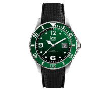 ICE steel - Green - Medium - 3H 015769 Herrenuhr