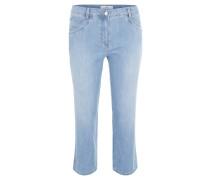 """Jeans """"Rocky"""", Capri-Länge, Feminin Fit, Nieten-Motiv"""