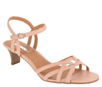 Sandaletten, Riemchen, Trichterabsatz
