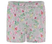 Shorts, gemustert, elastischer Bund, Eingrifftaschen