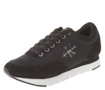 Sneaker, Kontrast-Sohle, Logo-Print, Nylon