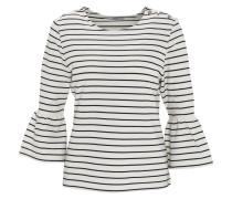 Shirt, 3/4-Arm, ausgestellte Ärmel, gestreift