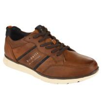 """Business-Sneaker """"Oak"""", Leder, Streifen-Details, Memory Foam"""