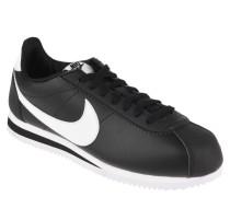 "Sneaker ""Classic Cortez"", Leder, kontrastfarbene Details"