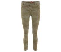 Jeans, Camouflage-Design, 5-Pocket-Stil
