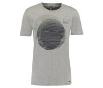 Tshirt, Brustprint