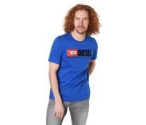 T-Shirt, Front-Print, reine Baumwolle