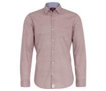 Freizeithemd, Modern Fit, Allover-Muster