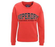 Sweatshirt, Logoaufnäher, weiches Innenmaterial