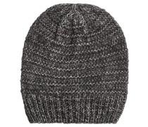 Mütze, Strick, Baumwoll-Anteil, meliert