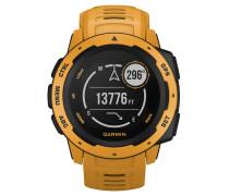 """Smartwatch """"Instinct"""" gelb / schiefer 40-40-1729"""