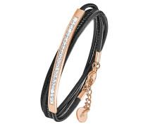 Wickel-Armband 2018795, mit Swarovski Kristallen