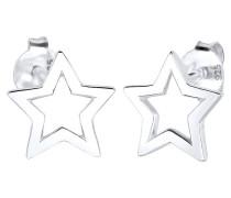 Ohrringe Stern Trend Astro Filigran 925