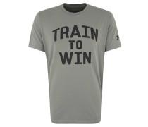 "T-Shirt ""Train To Win"", schnelltrocknend, kühlend, Print"