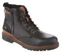 Stiefel, Leder, Profilsohle, Reißverschluss