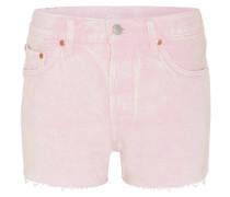 Jeans-Shorts, Fransen, Waschung