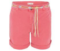 Shorts, Used-Look, Bindegürtel