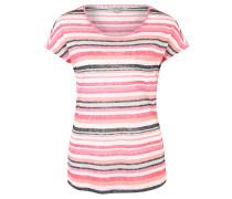 T-Shirt, Feinstrick, gestreift, Tasche