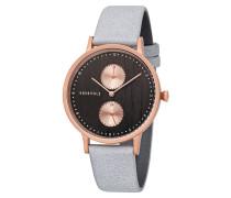 Armbanduhr Clara Rosebud Wood WATMCLA5544 Chronograph