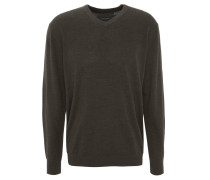 Pullover, Woll-Anteil, Feinstrick, unifarben