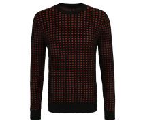Pullover, Strick, Strukturmuster, elastische Bündchen