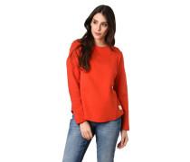 Sweatshirt, Rippbündchen, Struktur-Muster