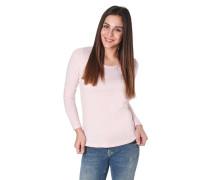 Langarmshirt, Rundhals, Ziernieten, verlängertes Rückenteil