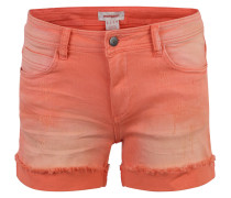 Shorts, Oil-Wash, Used-Look, Fransensaum